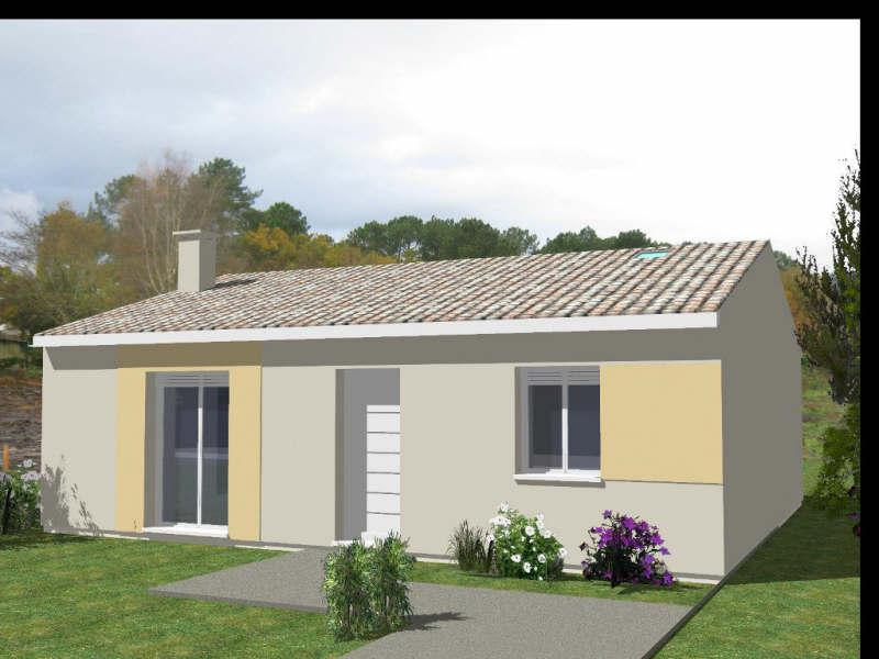 Vente projet de construction maison 3 pi ces hourtin for Estimer construction maison